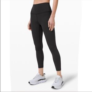 "Lululemon In Movement Tights 25"" leg Sz 8"